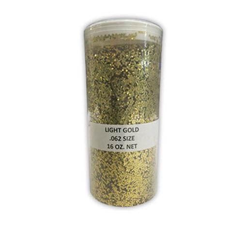Gold Glitter - 16 oz