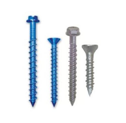 2 1/4 in x 1/4 in ITW Buildex Tapcon Hex Head Concrete Screw Anchor