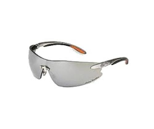 Honeywell Harley-Davidson HD800 Series Safety Glasses - Silver Frame/Silver Mirror Lens