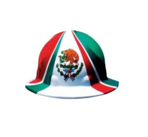 Honeywell Fibre-Metal SuperEight Full Graphic Mexico Full Brim Hard Hat