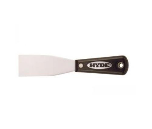1 1/2 in HYDE Tools Flexible Black & Silver Putty Knife