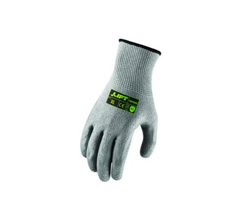 LIFT Safety FiberWire A5 Crinkle Latex Glove - Medium