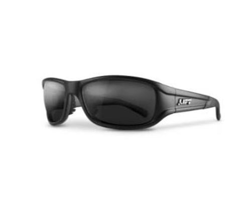 LIFT Safety Alias Safety Glasses - Black Frame/Smoke Lens