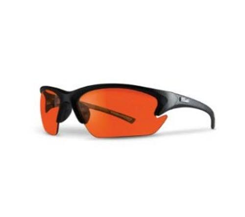 LIFT Safety Quest Safety Glasses - Black Frame/Amber Lens