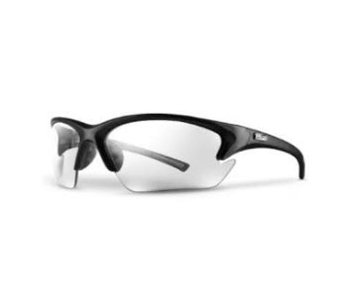 LIFT Safety Quest Safety Glasses - Black Frame/Clear Lens