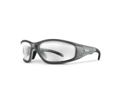 LIFT Safety Strobe Safety Glasses - Silver Frame/Clear Lens