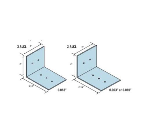 2 in x 2 in x 2 1/2 in Marino\WARE Aluminum Breakaway Clip