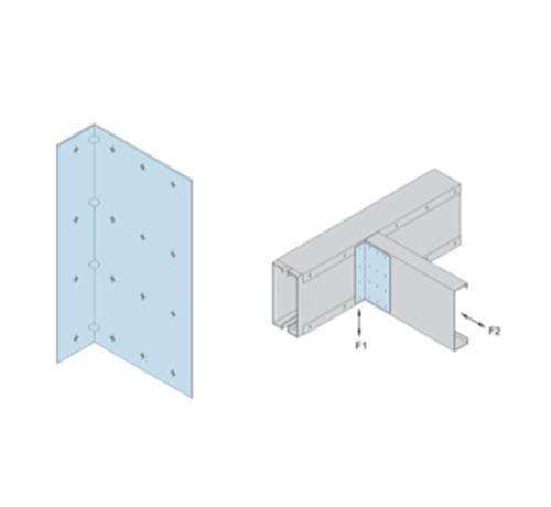 1 1/2 in x 3 in x 5 1/4 in x 14 Gauge 68 mil Marino\WARE Utility Clip