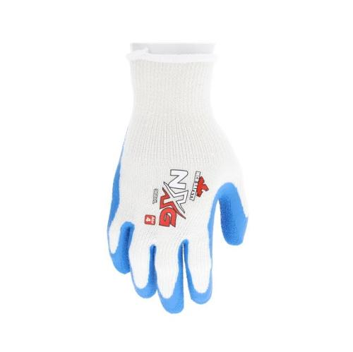 MCR Safety NXG Cotton/Polyester Latex Palm Glove - Large