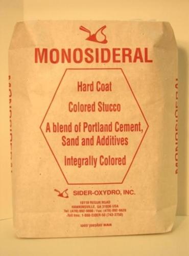 Sider-Crete Monosideral F Stucco - 55 lb Bag