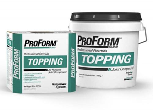 National Gypsum ProForm BRAND Topping Joint Compound - 50 lb Box