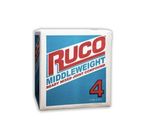 RUCO Middleweight Ready-Mixed Joint Compound - 3.5 Gallon Box