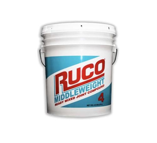 RUCO Middleweight Ready-Mixed Joint Compound - 4.5 Gallon Pail
