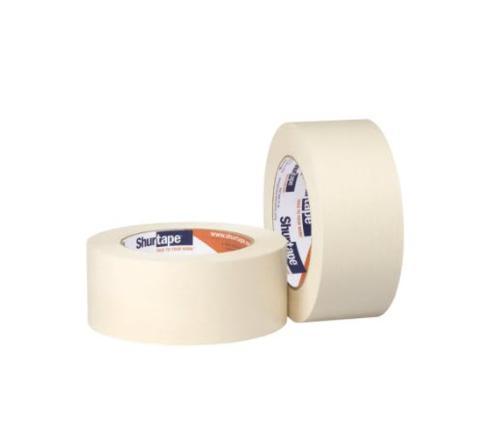 1 1/2 in x 60 yd Shurtape CP 101 General Purpose Grade Medium-High Adhesion Masking Tape