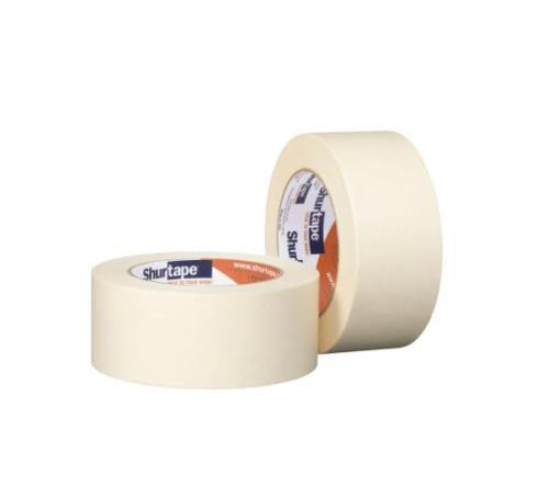 1 1/2 in x 60 yd Shurtape CP 105 General Purpose Grade Medium-High Adhesion Masking Tape