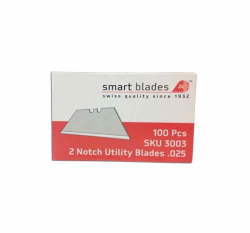 .025 in Smart Blades Safe Dispense HD Utility Blade - 100 Pack