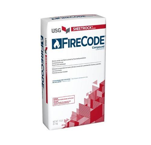 USG Sheetrock Brand Firecode Compound - 15 lb Bag