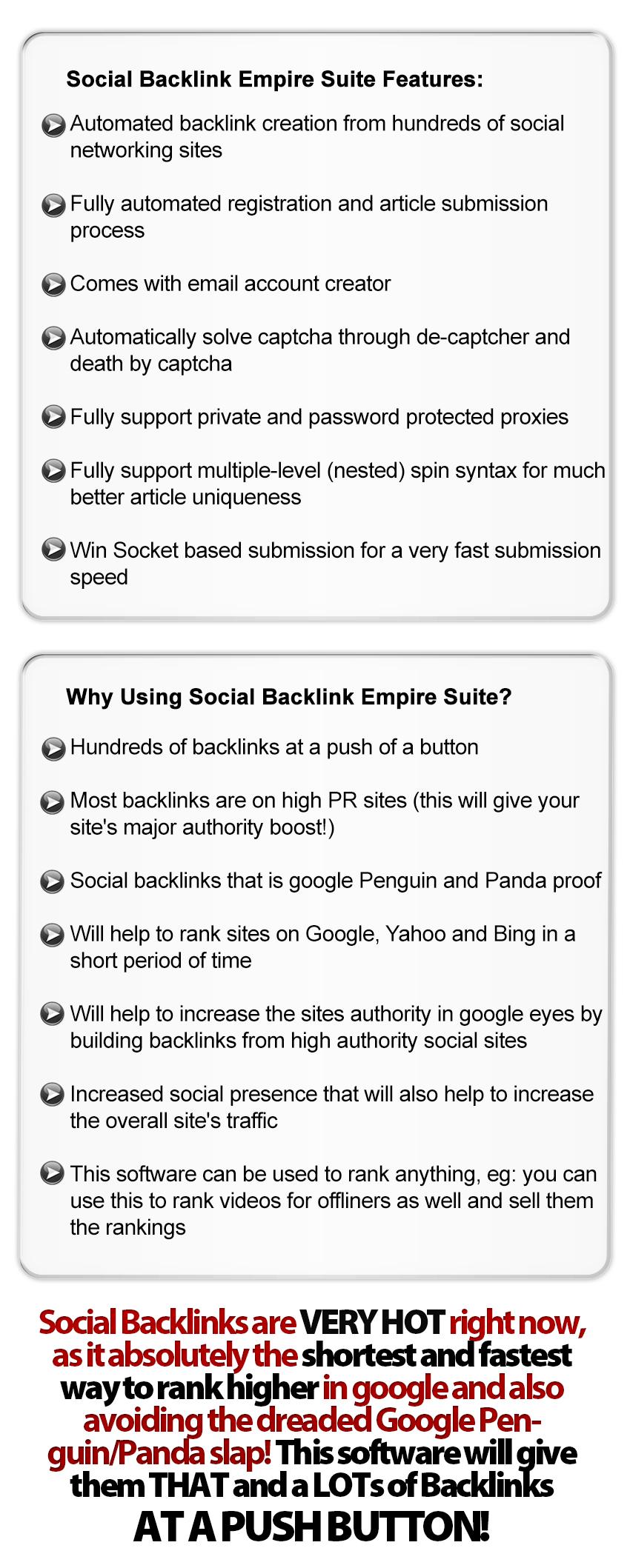 Social Backlink Empire Suite Pro 1.0.20