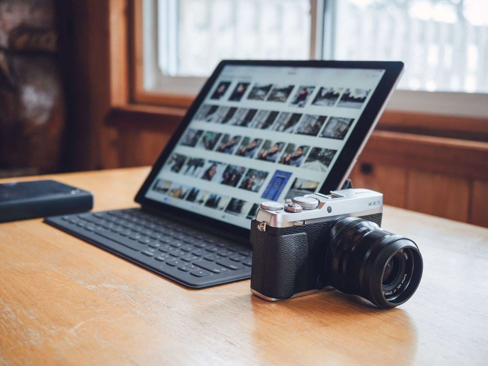 Using an iPad for photography workflows