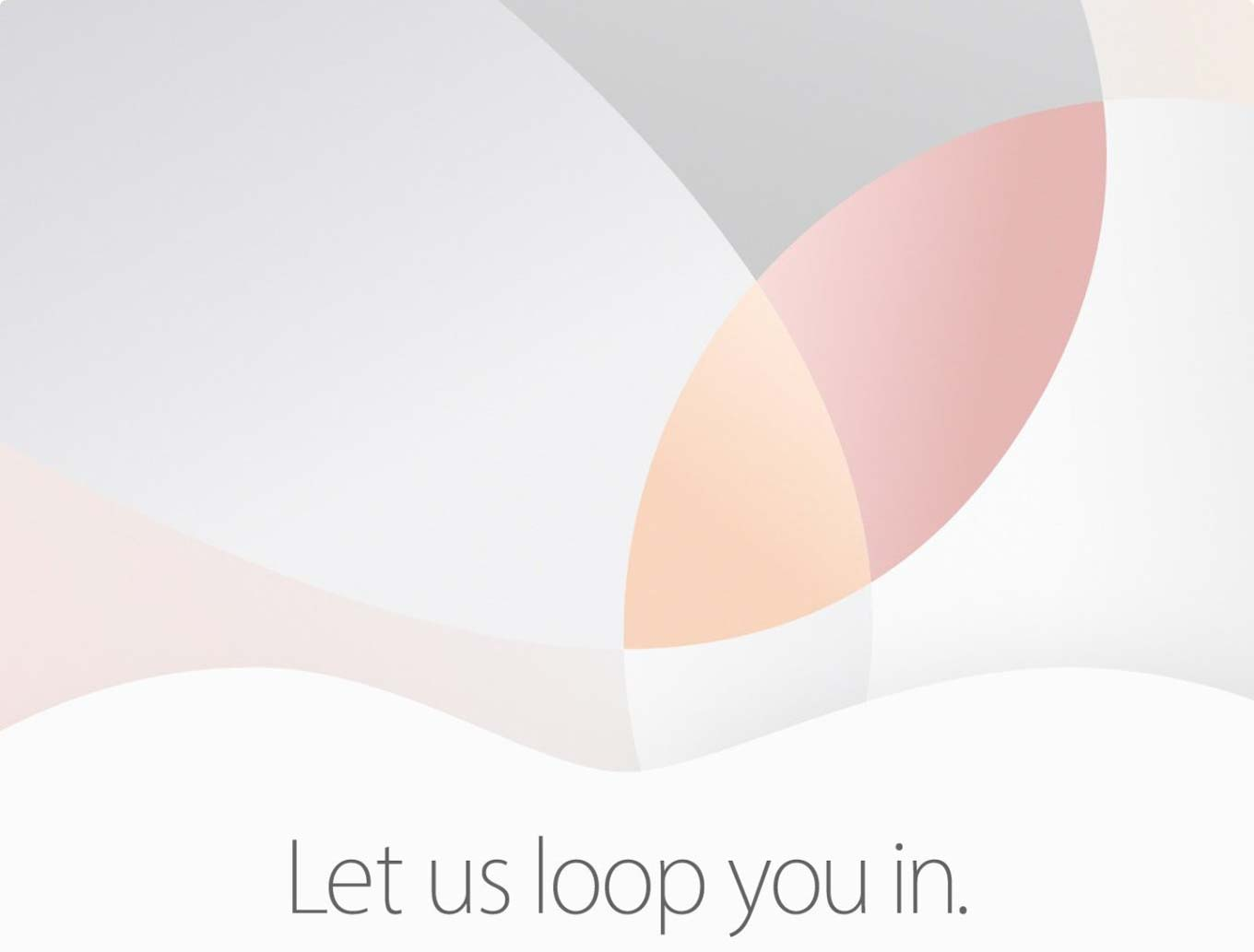 Apple Event officially scheduled for March 21