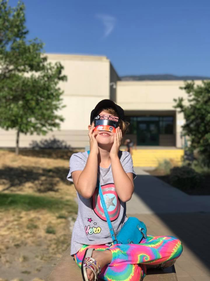 On using your iPhone to take photos of yesterday's eclipse