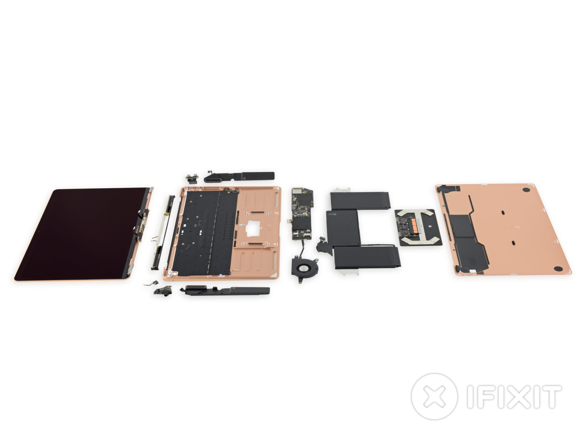 The iFixIt MacBook Air 13″ Retina 2018 Teardown