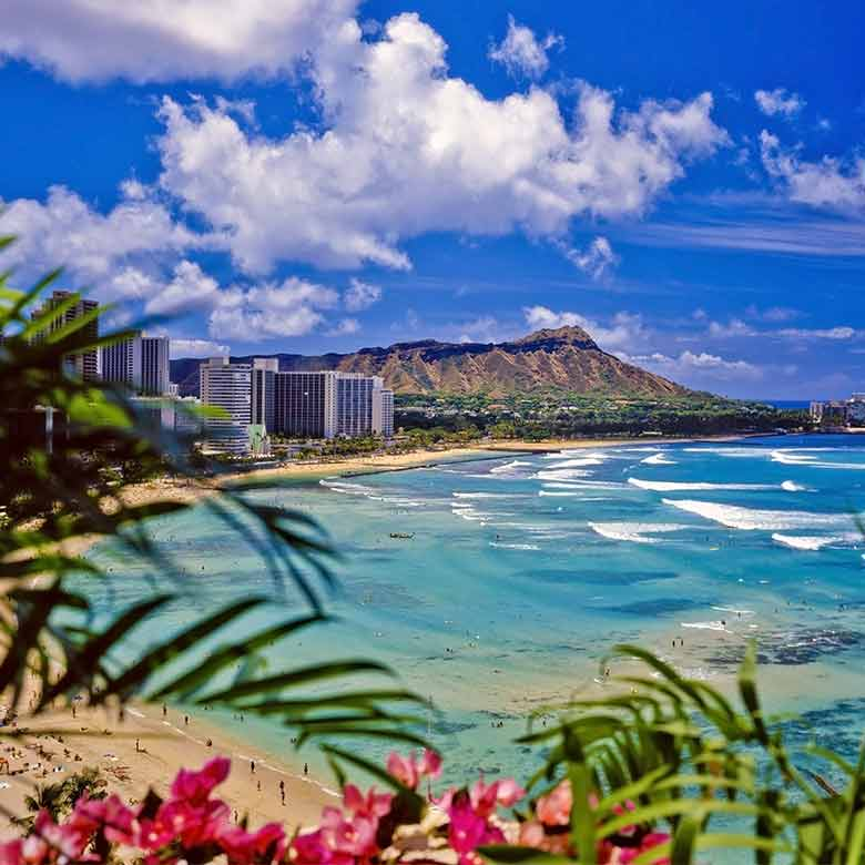 Visit one of the most popular honeymoon destination, Hawaii!