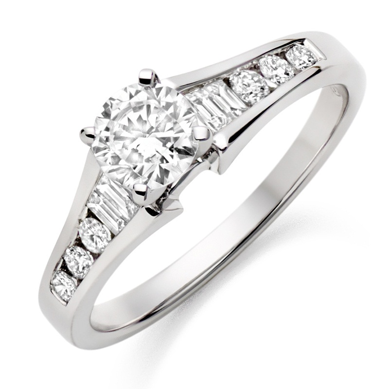 Win a White Gold and Diamond Engagement Ring