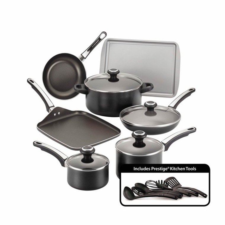 Win a Farberware Nonstick 17-Piece Cookware Set