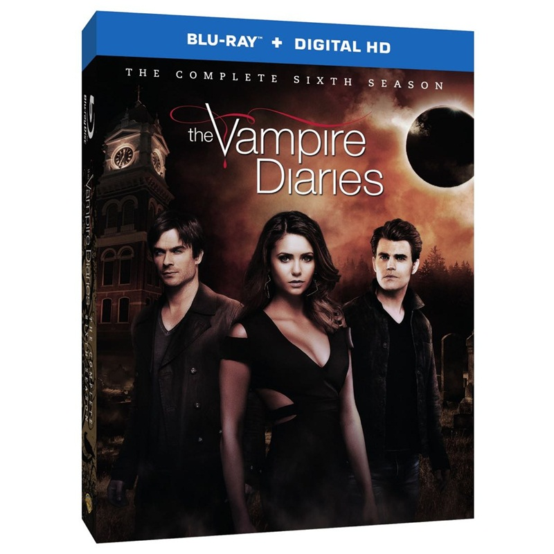Win a The Vampire Diaries S7 DVDs