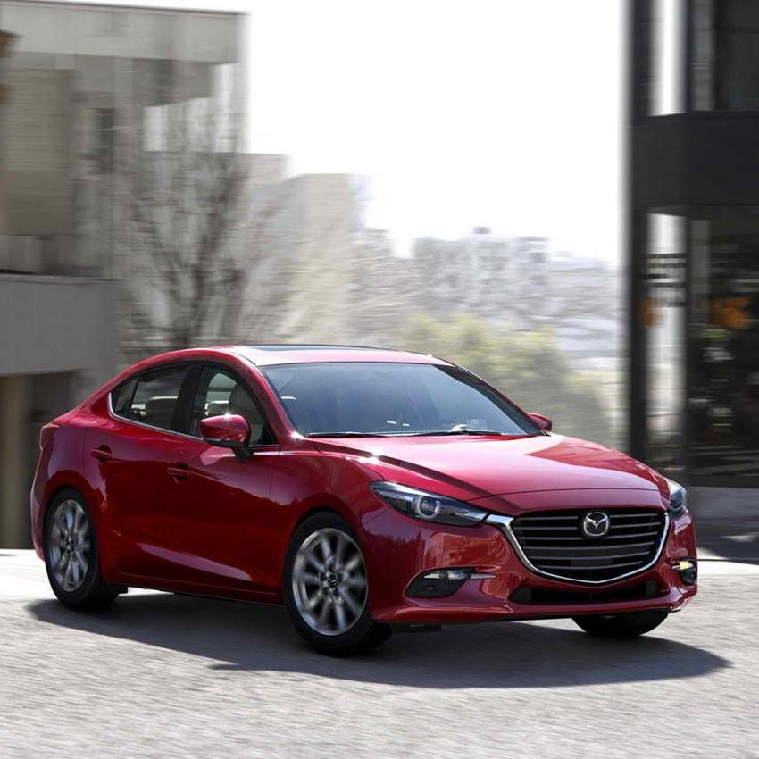 Win A 2016 Mazda 3