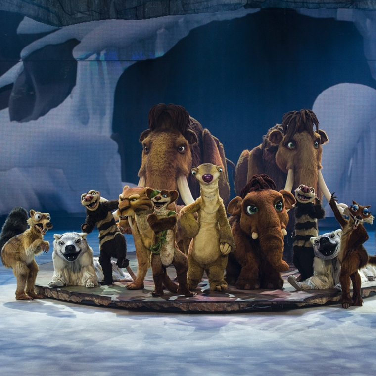 Win Tickets to Ice Age Live