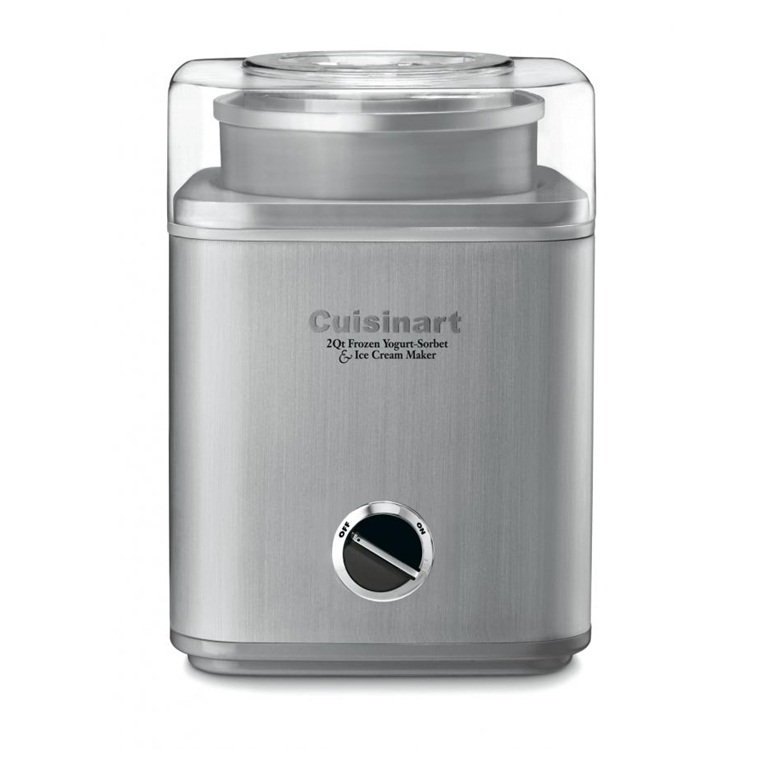 Win a Cuisinart Pure Indulgence Ice Cream Maker