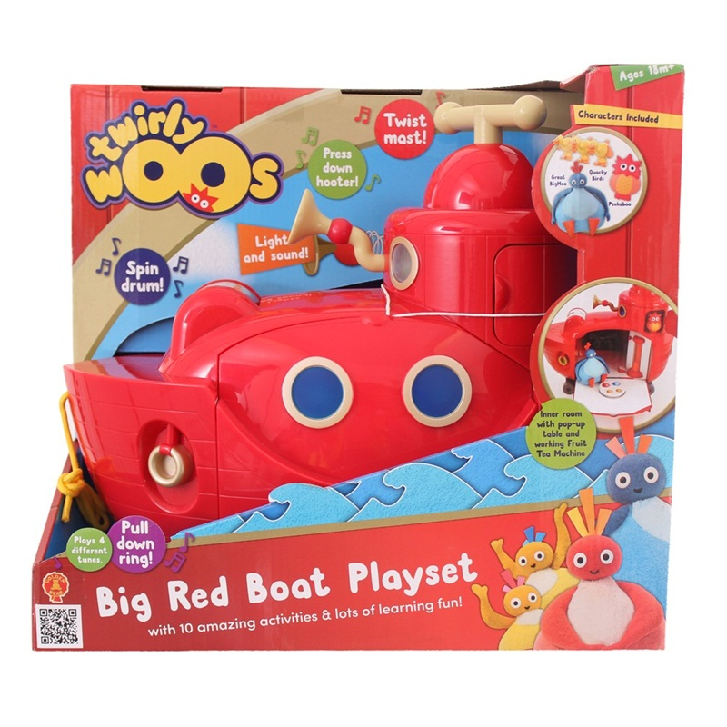 Win a Twirlywoos Big Red Boat Playset