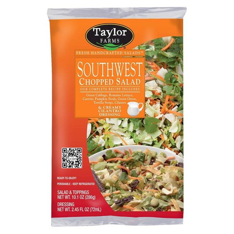 Win a Year's Supply of Taylor Farms Chopped Salad Kits
