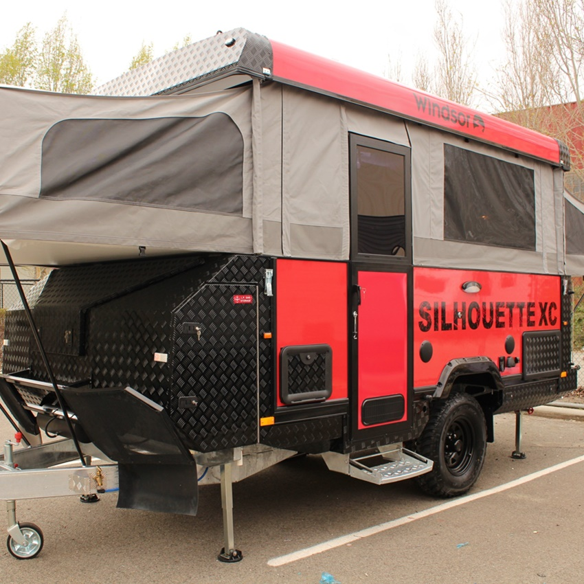 Win A Windsor Silhouette XC Camper Trailer