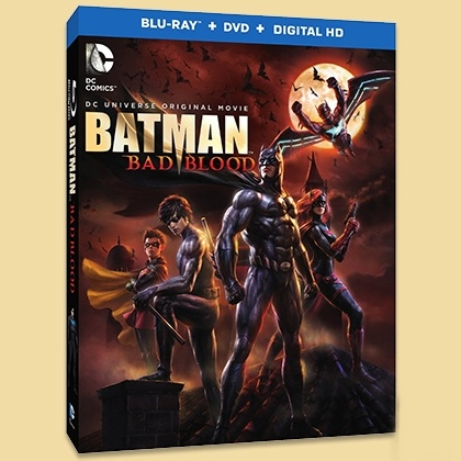 Win a BATMAN: BAD BLOOD ON BLU-RAY COMBO PACK