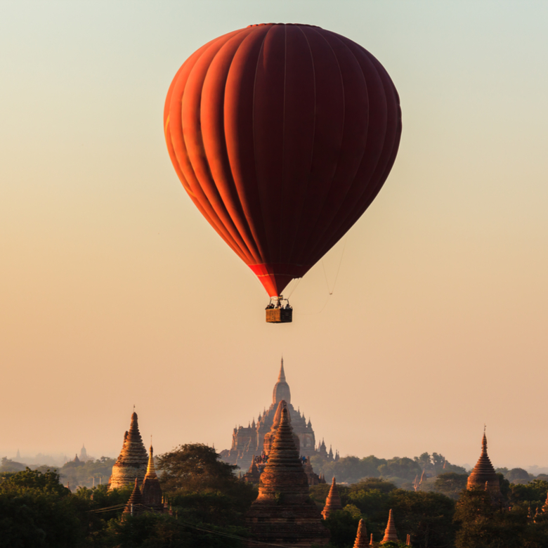 WIN a Hot Air Ballooning Experience in Myanmar!
