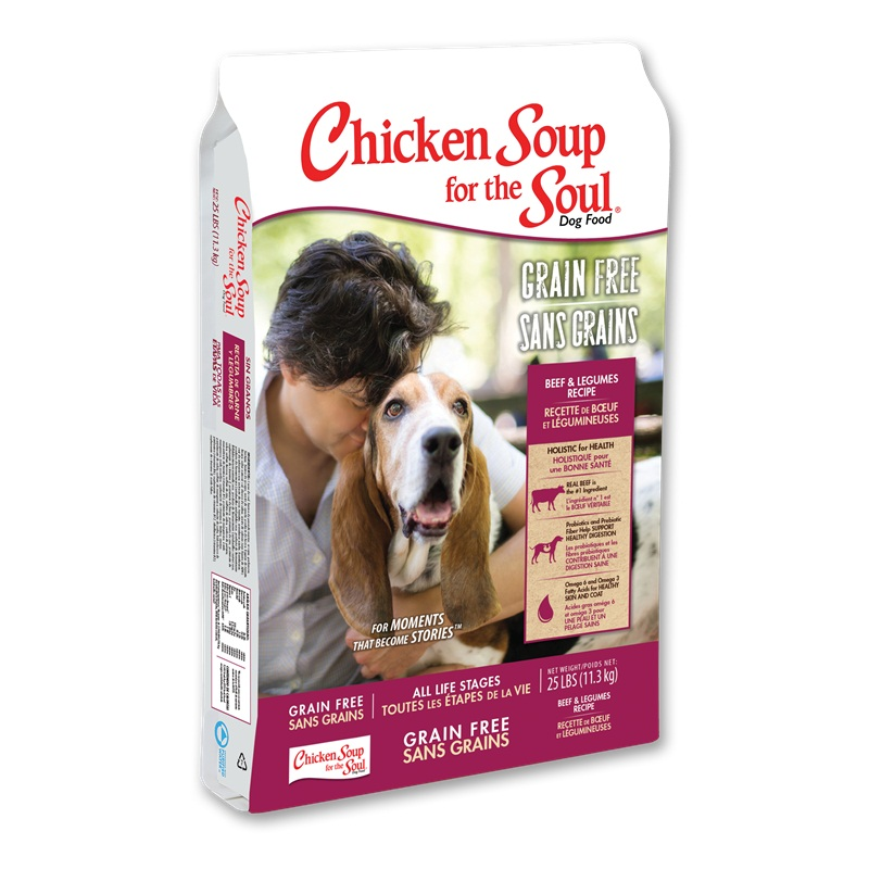 Win a Bags Grain Free Dry dog Food and more.