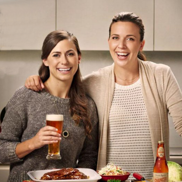 Win Exclusive Perfect Pairing Dinner For You And Three Mates, With Beers Matched By Sammy And Bella