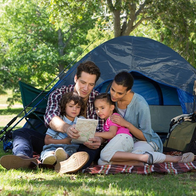 Win a Family Camping Prize Pack