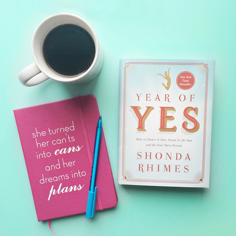 Win A Copy Of The Book 'Year Of Yes' By Shonda Rhimes