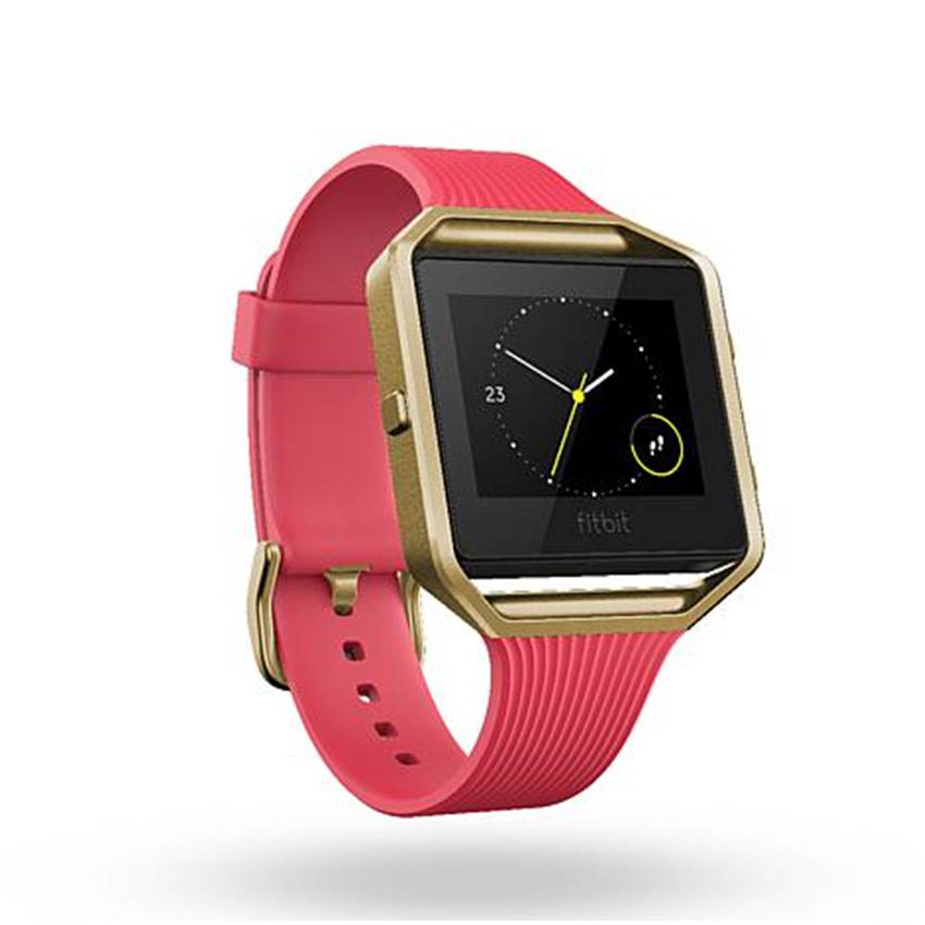 Win A Gold Series Fitbit Blaze