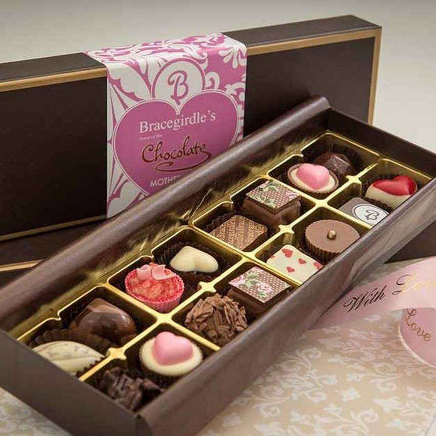 Win A Year's Worth Of Bracegirdle's Chocolate