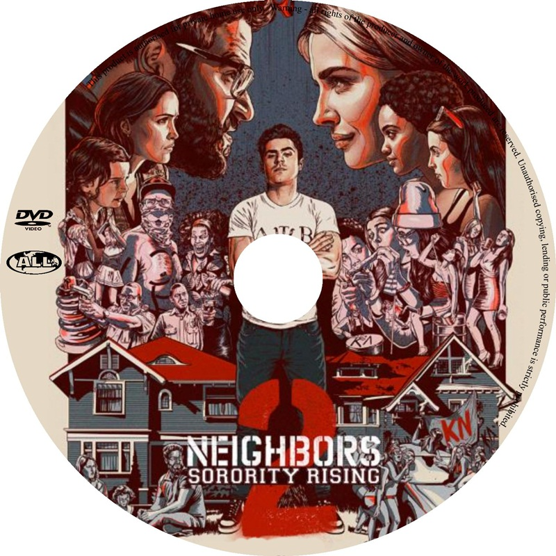 Win a BAD NEIGHBOURS 2 DVDs