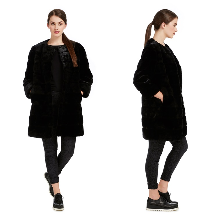 Win The Seasons MINK FAUX COAT