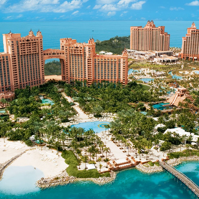 Win 1 of 20 trips for two to Nassau, Bahamas