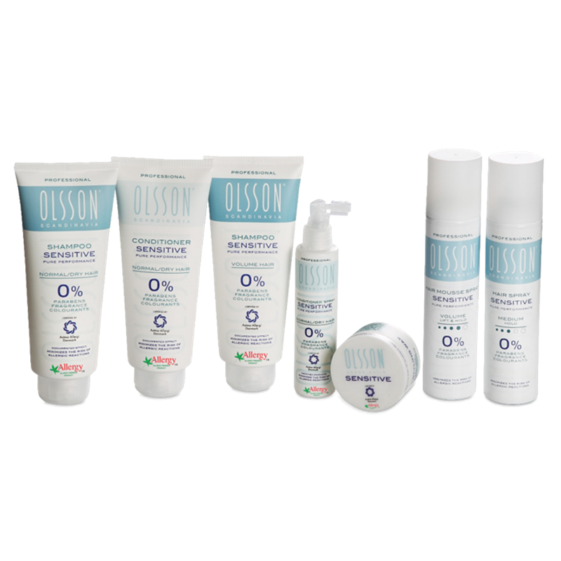 Win 5 Complete Sets of the Olsson Hair Collection