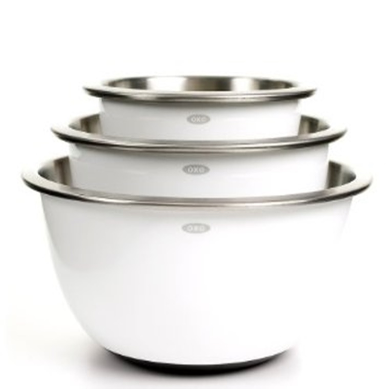 Win a OXO Good Grips Stainless Steel Mixing Bowls
