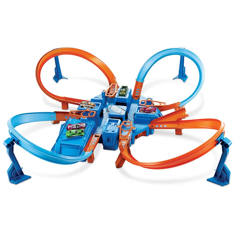 Win a Hot Wheels Track Set and more.
